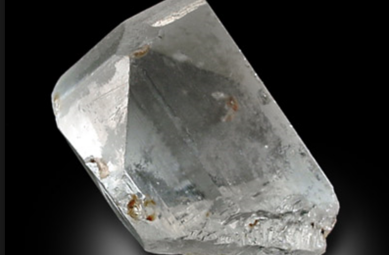 Rough Piece of White Topaz