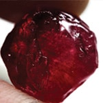 Rough Red Ruby