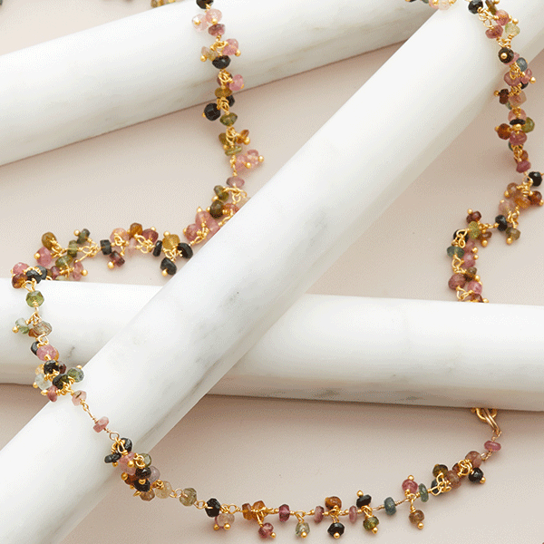 tourmaline rope chain
