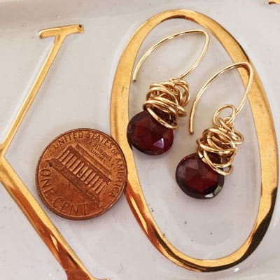 Design your own personalized earrings. These Paisely drop earrings are a favorite piece of personalized jewelry - a perfect custom gift.