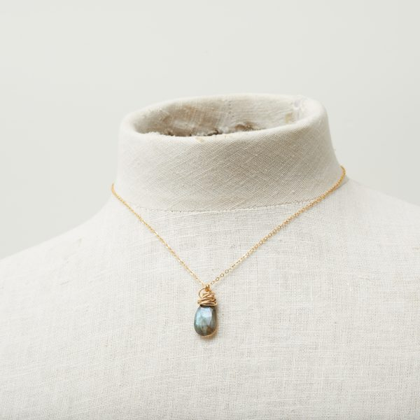 This Trista custom pendant necklace in silver is a favorite piece of jewelry - a perfect custom birthstone jewelry gift.